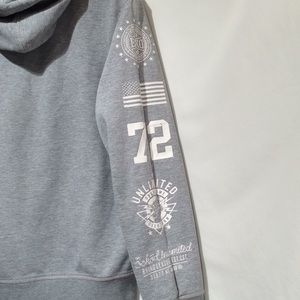 Ecko Unlimited Shirts - Ecko UNLTD men's S Gray graphic  hoodie (568)